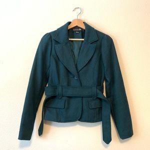 Teal Jacket